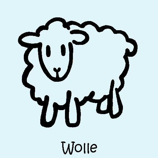 Strumpfwaren: Wolle