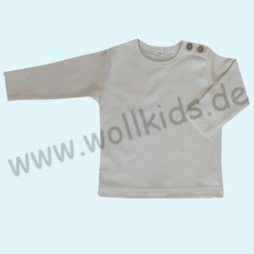 BIO BAUMWOLLE Leela Cotton Langarm T-Shirts kbA BW Uni Langarm Shirt BASIC natur