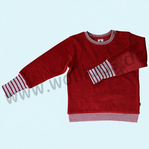 LEELA COTTON: BIO Baumwolle Pullover Nicky Pulli ziegelrot NEU