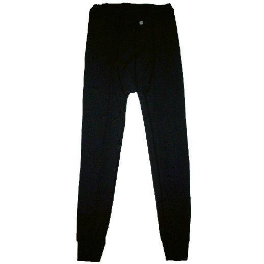 SALE: Lange Unterhose - Wolle/Seide, schwarz von Engel natur