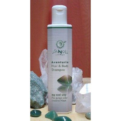 Sanoll BIO Aventurin Hair- & Bodyshampoo Shampoo & Duschgel - zertifizierte Bio Kosmetik - Austria Bio Garantie