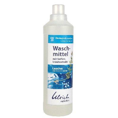 Waschmittel mit Seifenkraut, flüssig 1l Flasche oder 5l Kanister Ulrich Natürlich