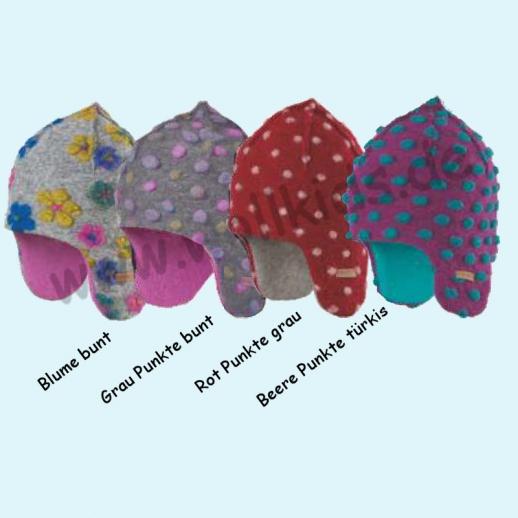 NEU: Pure-Tex Süße Walkmütze Mütze mit Schurwollfleecefutter, kbT Schurwolle 4 Farben