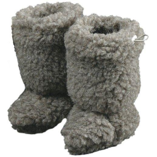 NEU: 2 Größen!! Babystiefel - Schuhe ideal für Traglinge - SALING - Schurwolle