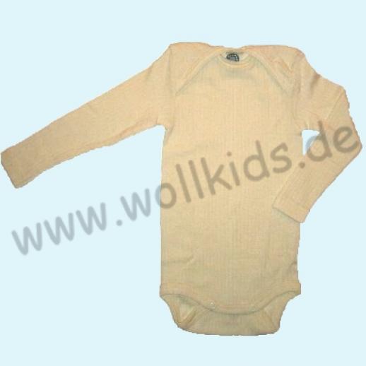 COSILANA Baby Body LA Wolle Seide natur Wäsche Babybody ORGANIC kbT