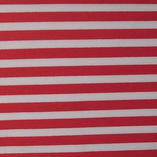 REST 47cm - Jersey - Baumwolle - rot -weiß Ringel - sehr hochwertige Qualität