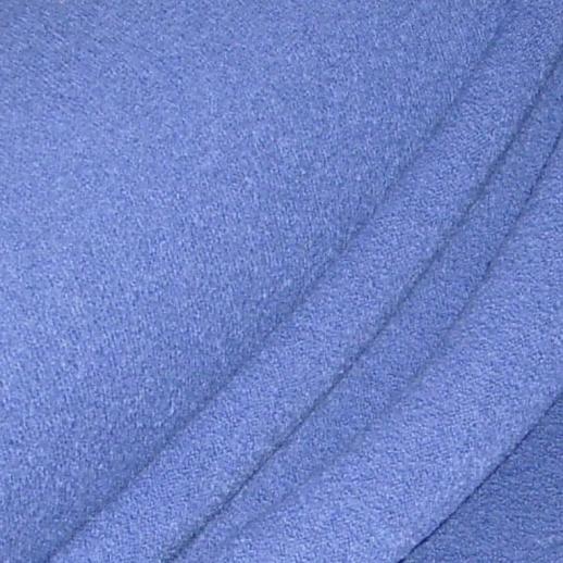 Italienischer Walkstoff - 100% Schurwolle - blau - sehr hochwertig