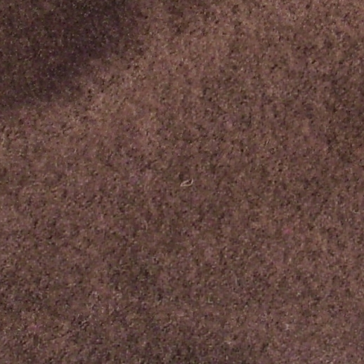 Hochwertiger Walkstoff aus Italien - 100% Schurwolle - schoko - schadstoffgeprüft