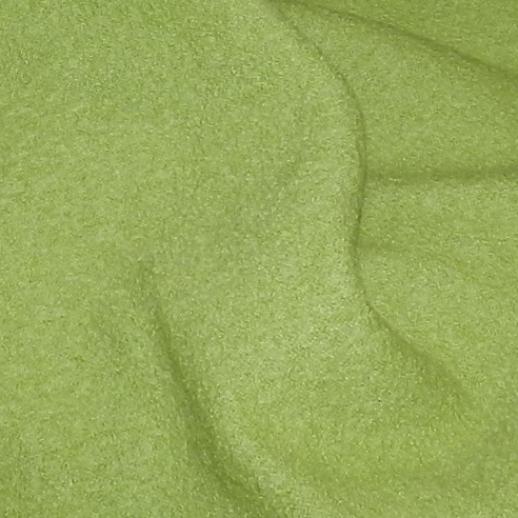 Schadstoffgeprüfter, hochwertiger Walkstoff aus Italien - 100% Schurwolle - apfelgrün - grün
