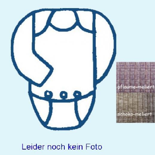 SALE: Cosilana Body - Langarm - Seide / kbT Wolle - Baumwolle uni meliert