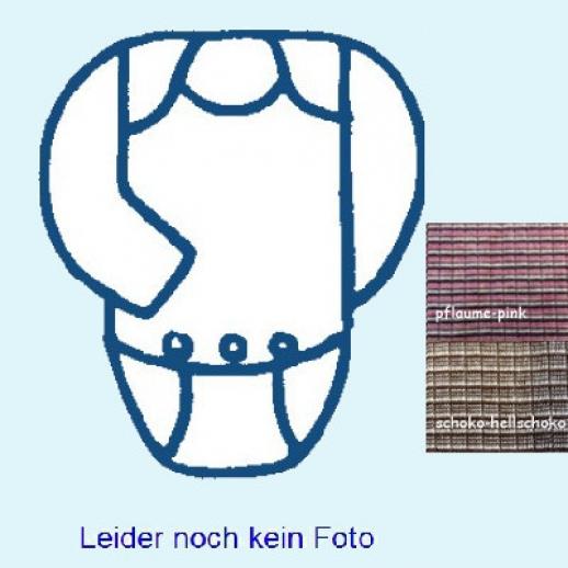 SALE: Cosilana Body - Langarm - Seide kbT Wolle - Baumwolle Ringel