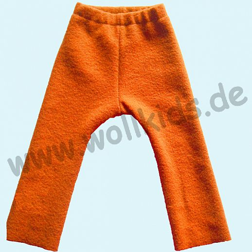 WOLLKIDS Leggin Longie orange Walklongie Schurwolle Hose Walk