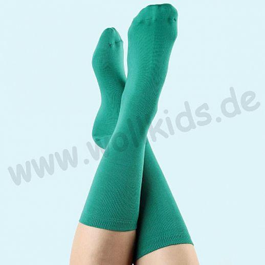 ALBERO - BIO Baumwolle - Damen- und Herrensocken Grün