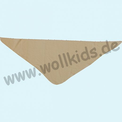 NEU: ALKENA Baby Halstuch Dreieckstuch Seidentuch - reine Bourette Seide - natur, aqua, rosa