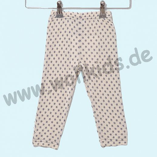 ALKENA Lange Baby-Hose - Reine Bourette Seide - zart zur Haut - rosa, natur, aqua