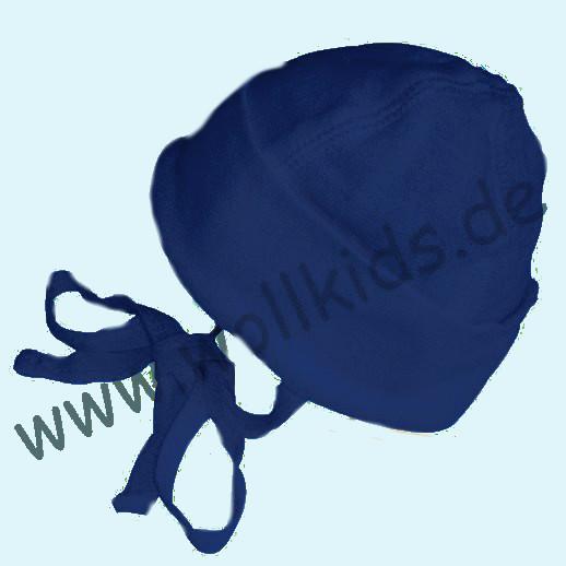 ALKENA Sonderfarben navy, beere, violett, aprikot - Mütze Bourette Seide