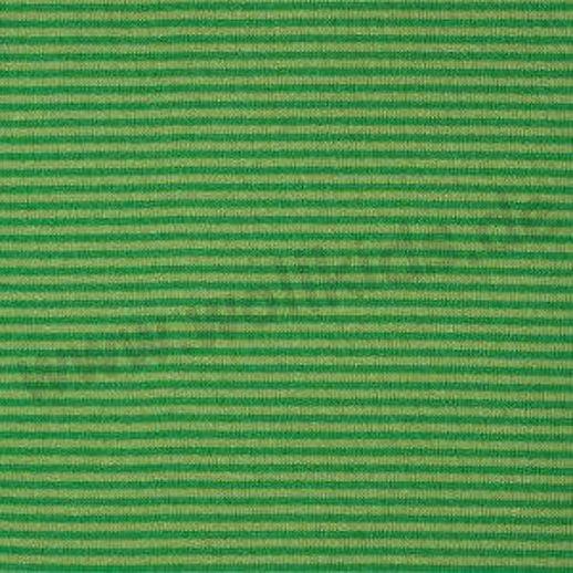 Wundervoller Baumwoll - Bündchen Stoff grün Ringel - griffig & weich zugleich