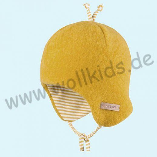 NEUE FARBEN: PURE-TEX Weiche Wollfleece Mütze, kbT Schurwolle viele Farben