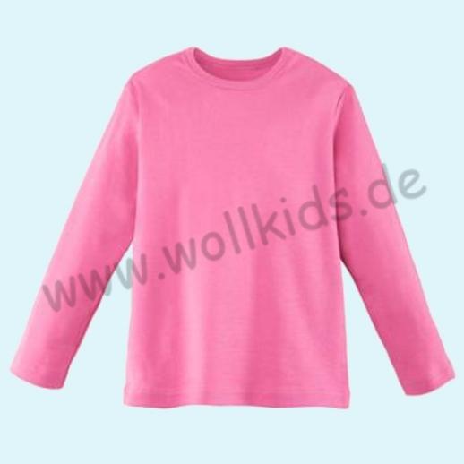BASIC Shirt Langarm BIO Organic GOTS pink