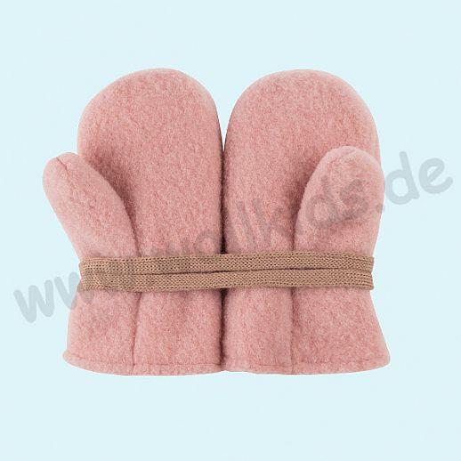 NEU in 3 Größen! PURE PURE by Bauer: Richtig warme weiche Wollfleece Handschuhe Fäustlinge rose