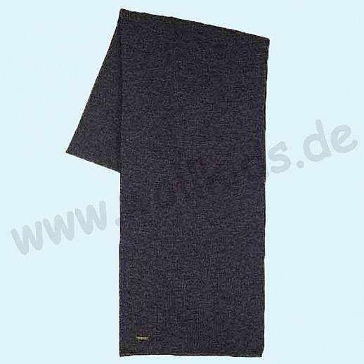 PURE PURE - Riesiger Schal - 100% Schurwolle für Erwachsene - anthrazit melange - kuschelig weich & warm