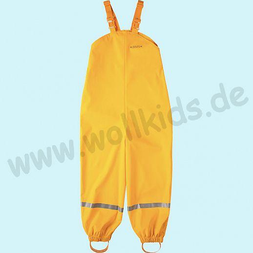 NEU: BMS Buddel-/ Regenlatzhose - 100% wasserdicht - OekoTex 100 Kategorie 1 gelb