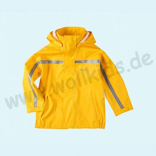 NEU: BMS Buddeljacke Regenjacke - wasserdicht - OekoTex 100 Kategorie 1 gelb