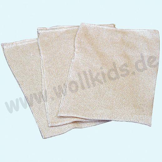 Disana 5x Bourette-Seiden Einlage 45x15cm - bei wundem Baby-Popo
