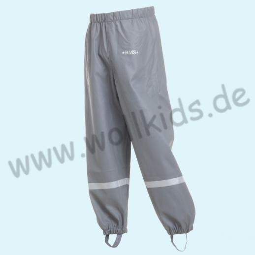 NEU: BMS Buddel-/ Regenbundhose - wasserdicht grau - OekoTex 100 Kategorie 1