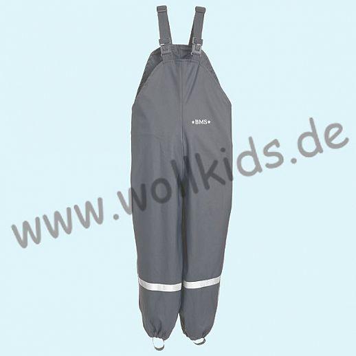 NEU: BMS Buddel-/ Regenlatzhose - 100% wasserdicht - OekoTex 100 Kategorie 1 cool grey