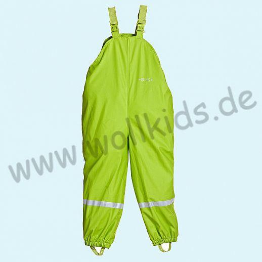 NEU: BMS Buddel-/ Regenlatzhose - 100% wasserdicht - OekoTex 100 Kategorie 1 limette