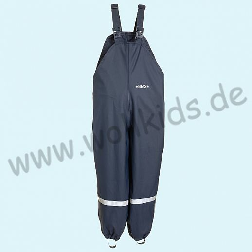NEU: BMS Buddel-/ Regenlatzhose - 100% wasserdicht - OekoTex 100 Kategorie 1 marine