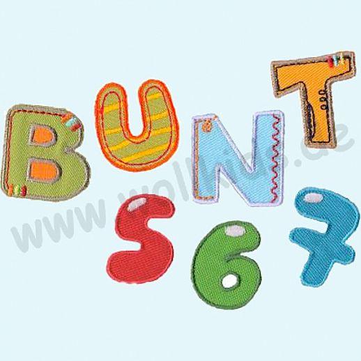 ☆ Buchstaben ☆ Zahlen ☆ Applikation ☆ Namen ☆ Bunte Buchstaben ☆