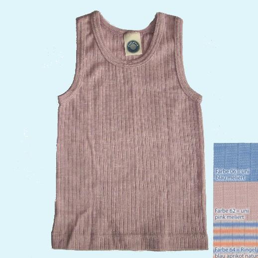 SALE: Cosilana Hemd Seide Wolle-Baumwolle kbA 3 Farben - Achselhemd