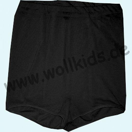 COSILANA: Damen Pants - Wolle-Seide - schwarz BIO kbT