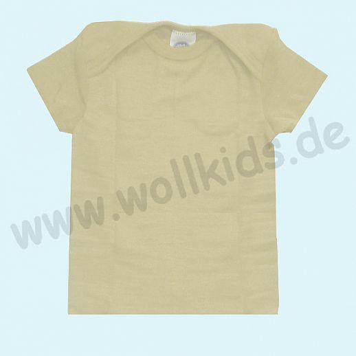 COSILANA Baby-Schlupfhemd KA Wolle Seide Leibchen ORGANIC BIO natur