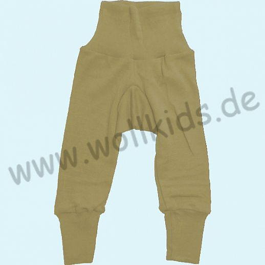 COSILANA Baby-Hose Wolle Seide - natur BIO kbT Organic