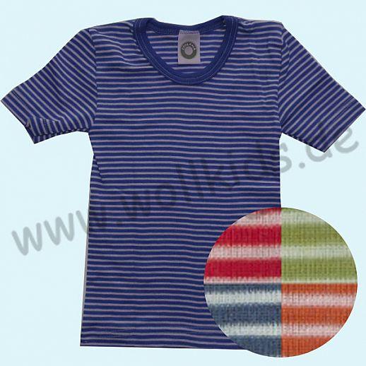 Cosilana Hemdchen KA Wolle Seide Kurzarm Shirt Organic BIO