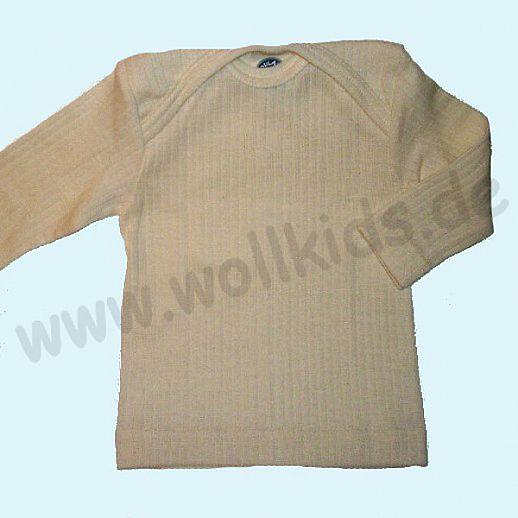 Cosilana Schlupfhemd Langarm Seide Wolle BIO Baumwolle ganz feines weiches Material