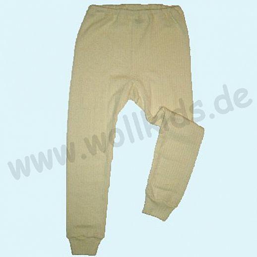 COSILANA Lange Kinderunterhose Leggin Seide Wolle Baumwolle ORGANIC