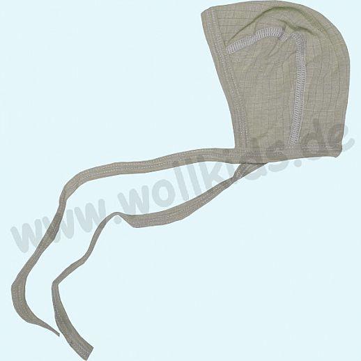 COSILANA: Baby-Häubchen - Mütze - Seide Wolle-Baumwolle, Frühchen