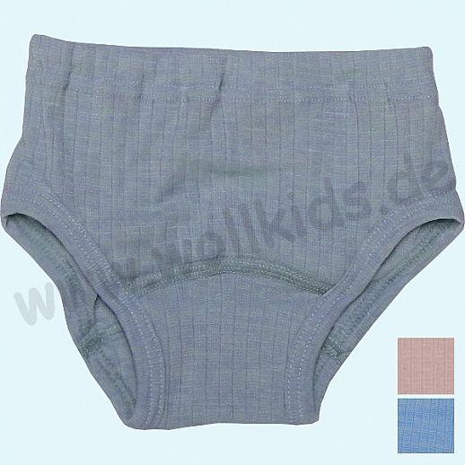 Cosilana Kinderslip - Seide Wolle Baumwolle Unterhose ORGANIC