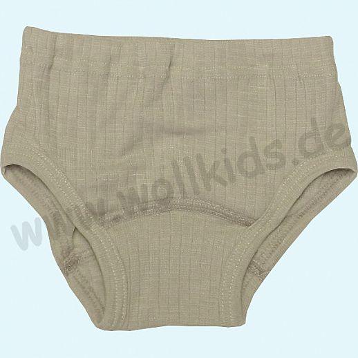 Kinderunterhose - Seide/Wolle-Baumwolle Slip Organic natur