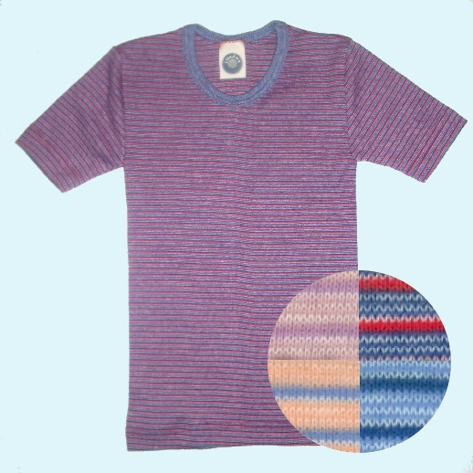 Cosilana Unterhemd 4 Farben Baumwolle kbA
