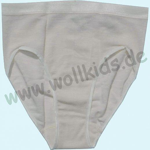 COSILANA: Slip für Damen - Wolle Seide - natur BIO kbT Schurwolle Unterhose