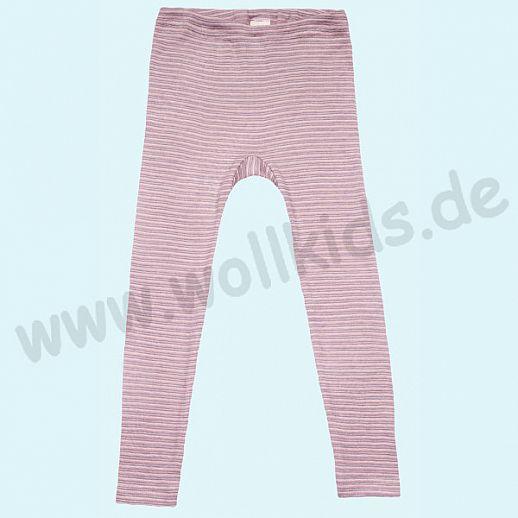 COSILANA - Kinderleggin, Wolle Seide SONDERMODELL Kinderleggin rosa grau natur