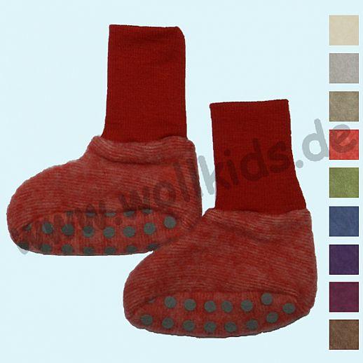 NEU: Cosilana - Kuschelige, warme Wollfleece - Baby-Schuhe - ORGANIC