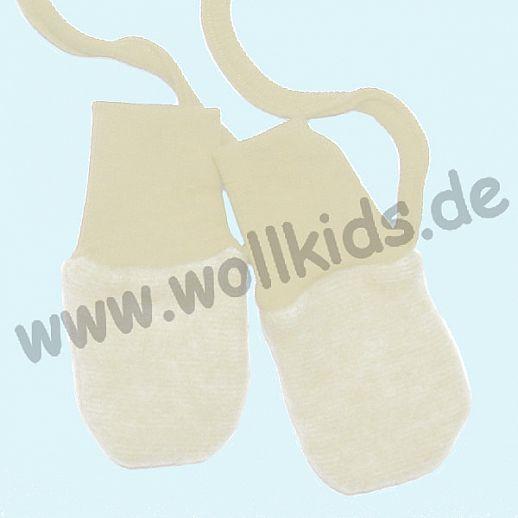Wollfleece - Baby-Handschuhe, in 9 Farben COSILANA - kbT Schurwolle - kuschelig weich