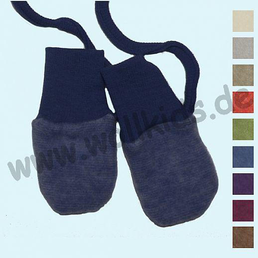 NEU: Wollfleece - Baby Handschuhe, in vielen Farben COSILANA - kbT Schurwolle - kbA Baumwolle