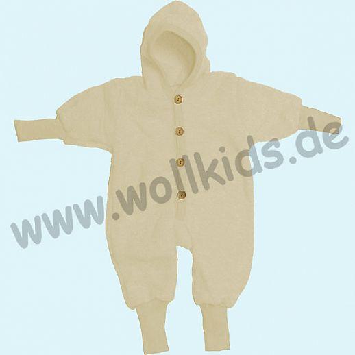 Wollfleece-Overall Strickbündchen, 7 Farben, Cosilana Schurwolle